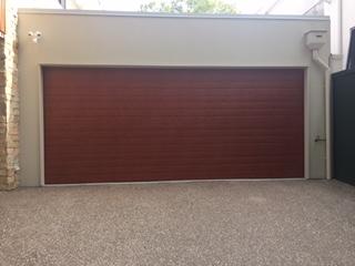 Knotwood Panelift Door